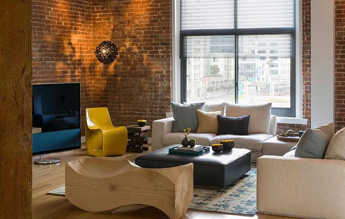 Интерьер гостиной от Jennifer Gustafson Interior Design