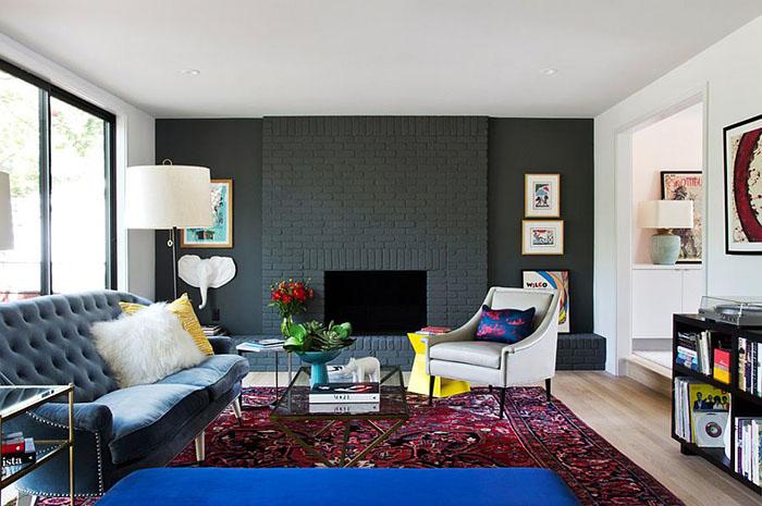 Интерьер гостиной от Stuart Sampley Architect