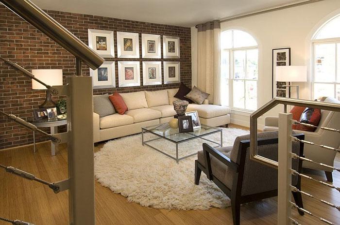 Интерьер гостиной от Carlyn and Company Interiors + Design