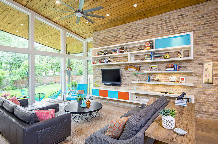 Интерьер гостиной от Christen Ales Interior Design