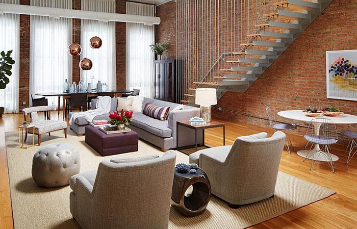 Интерьер гостиной от Jessica Lagrange Interiors