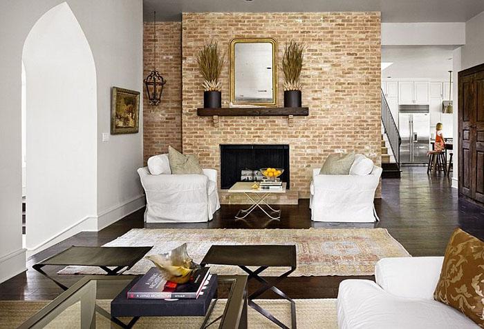 Интерьер гостиной от Hugh Jefferson Randolph Architects