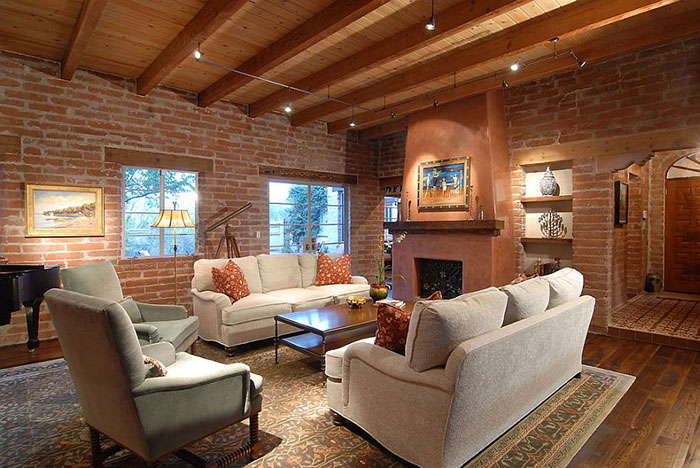 Интерьер гостиной от Lisa Gildar Interior Spaces