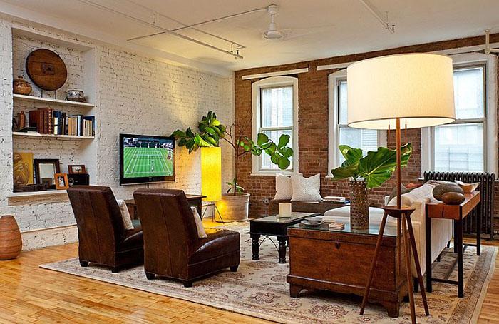 Интерьер гостиной от Helaina Bernstein Design
