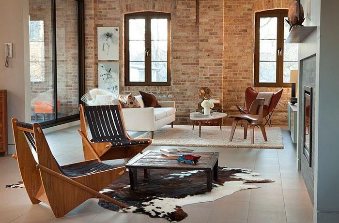 Интерьер гостиной от MRSA Architects & Planners