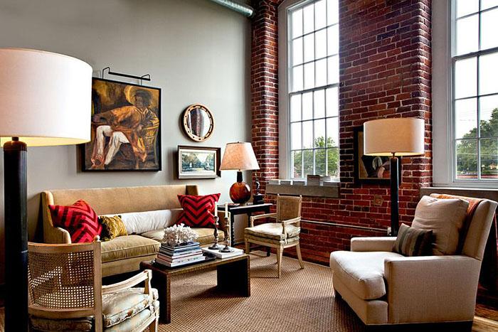 Интерьер гостиной от  Jason Arnold Interiors