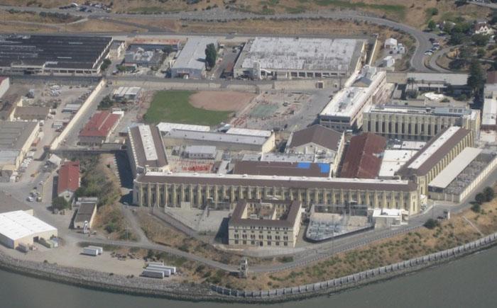 Тюрьма Сабанета с высоты птичьего полёта.