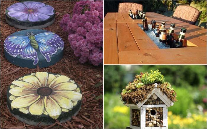 25 доступных идей оформления двора на зависть всем соседям