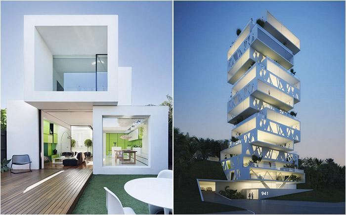 Странности и прелести современной архитектуры: 18 домов-пазлов