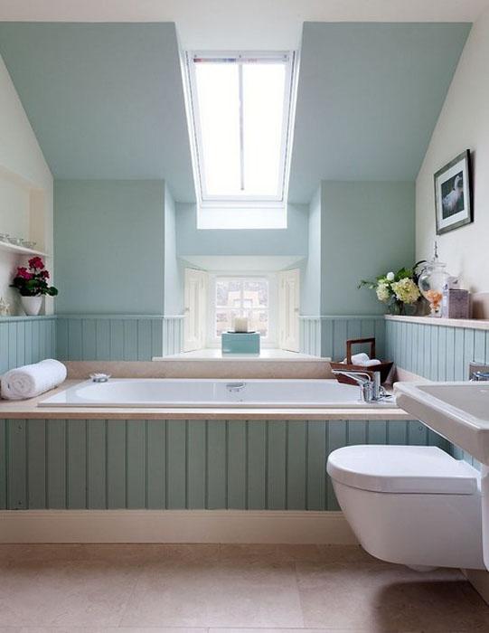 Интерьер ванной от Robertson Lindsay Interiors