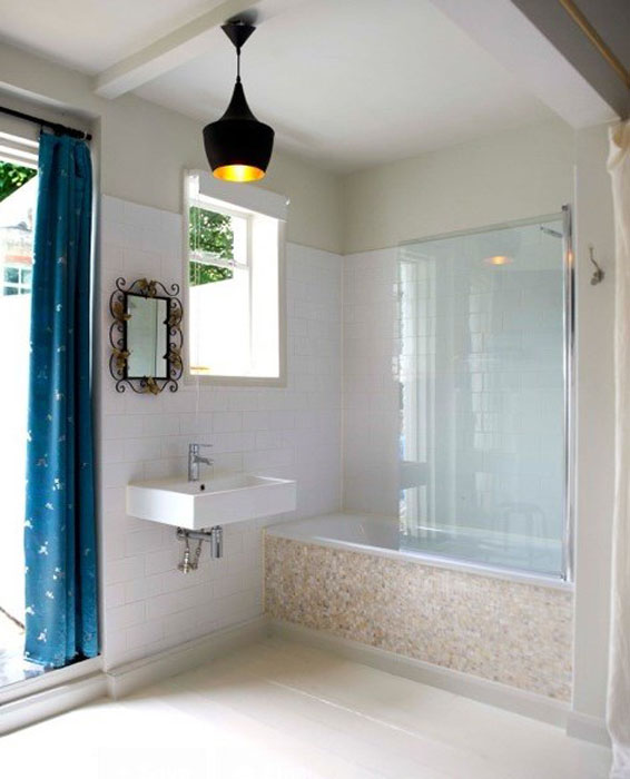 Интерьер ванной от ShellShock Designs