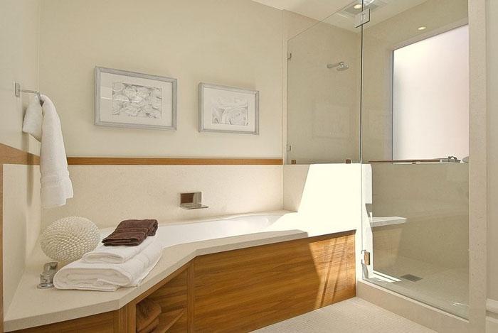 Интерьер ванной от EAG Studio