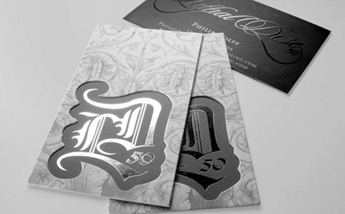 Визитки от компании Taste of Ink