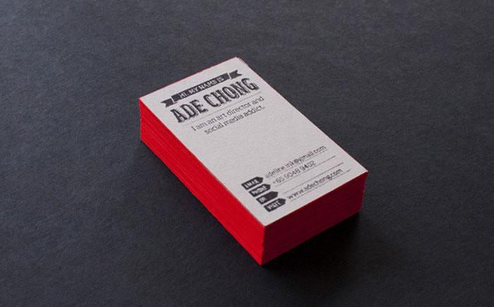 Визитки от компании Moo – Luxe Business Cards