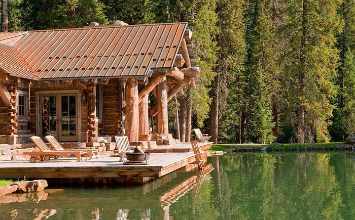 Озеро вместо бассейна