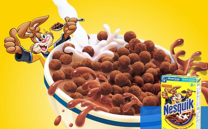 Завтрак от Nestle
