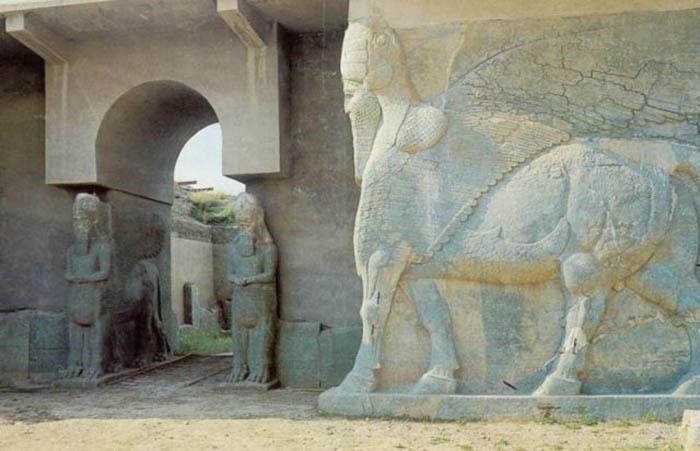 Калах/Нимруд, Ассирия