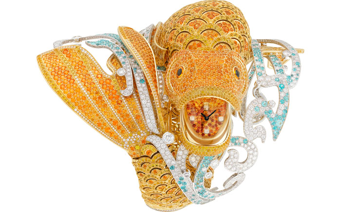 Часы «Карп кои» от Van Cleef & Arpels