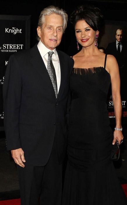 Кэтрин Зета-Джонс – на премьере фильма «Уолл-стрит»2010 год