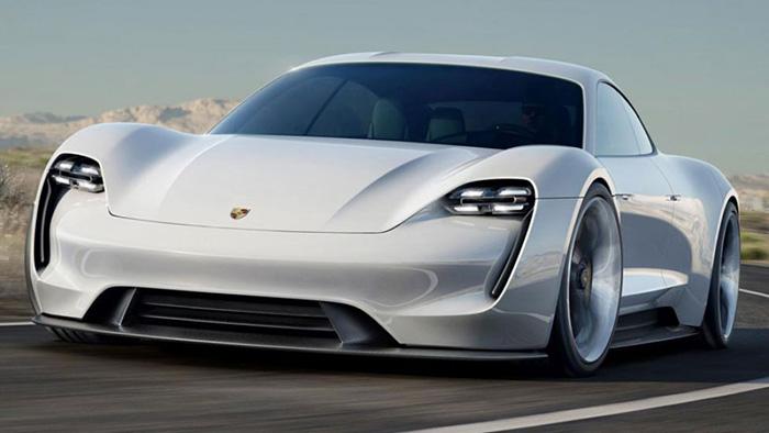 Porsche Mission E концепт