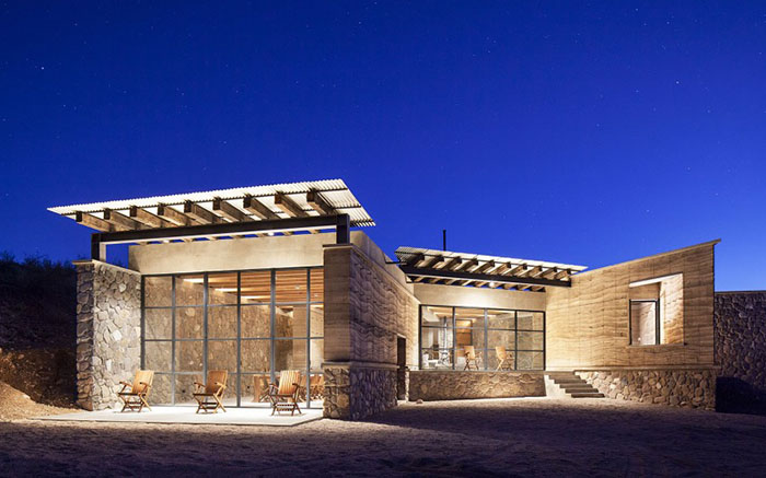 Дом-пещера – единение природы и архитектуры от мексиканских дизайнеров