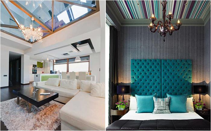 30 самых оригинальных идей современной отделки потолков