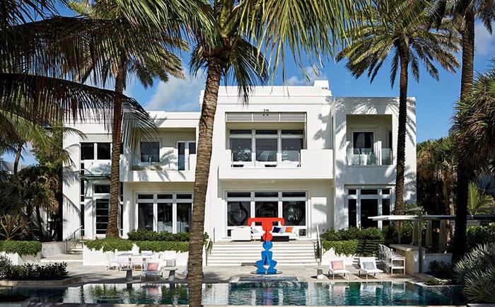 Дом Томми Хилфайгера в Майями