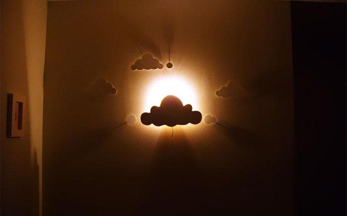 Светильник «Облака»