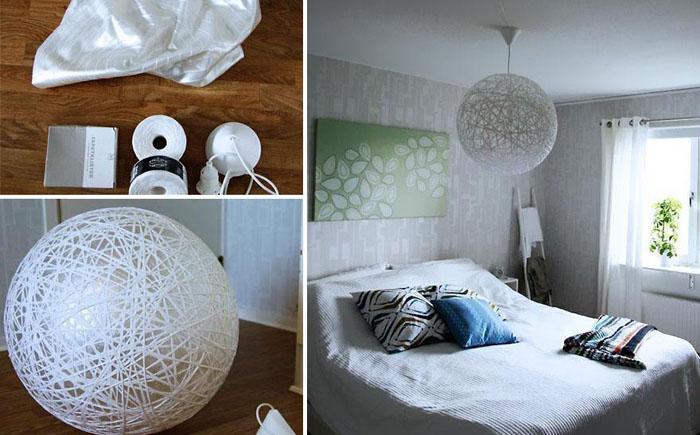 Декор квартиры из подручных средств в домашних условиях