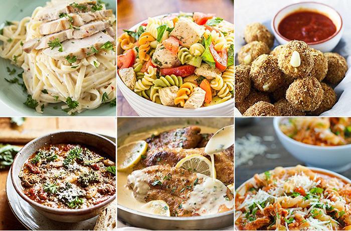 Как быстро и вкусно приготовить курицу по-итальянски: 4 простых и быстрых рецепта