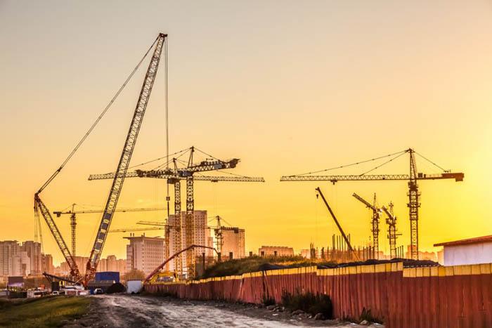 Рост строительства
