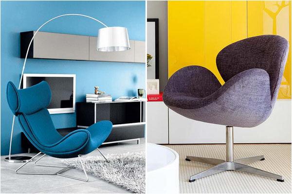 Современные кресла должны быть красивыми и удобными