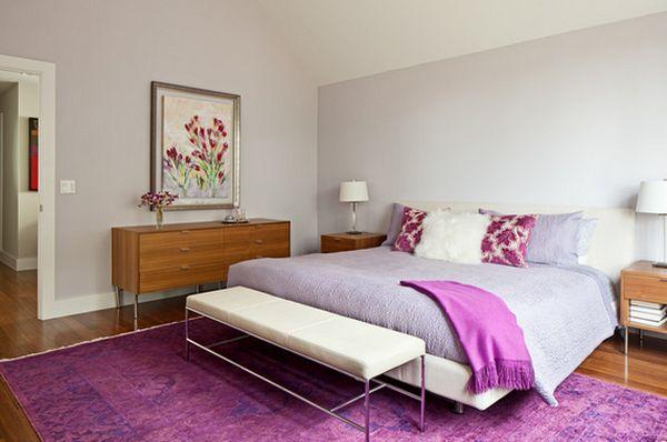 Спальня в модных оттенках