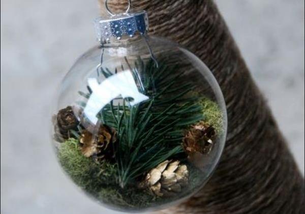Мини лес в стеклянном шаре