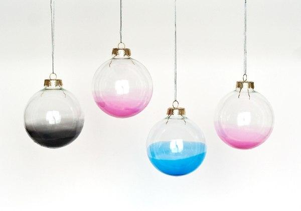 Градиентная окраска шариков