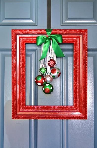 Рождественская рамочка
