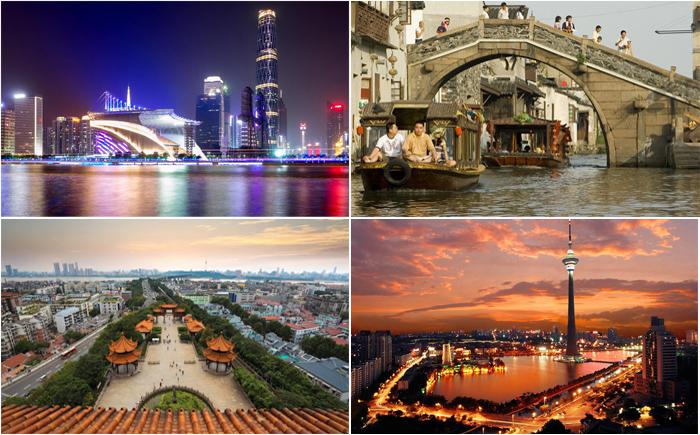 10 самых богатых городов Китая