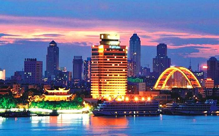 китайские города на побережье