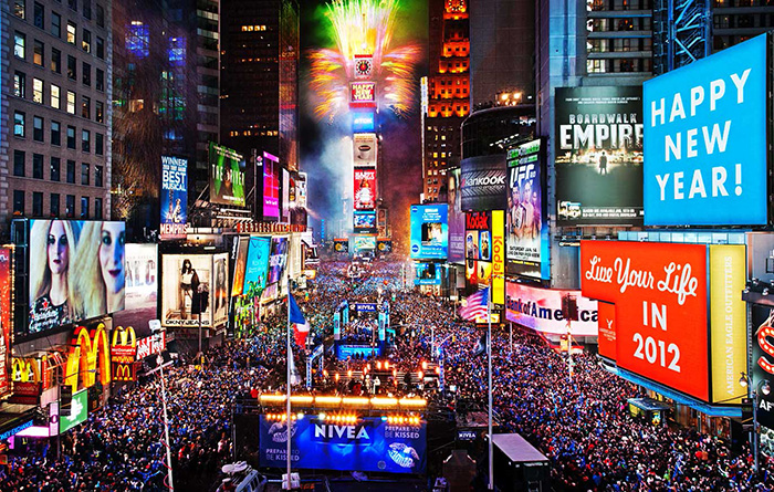 Таймс-Сквер, Нью-Йорк