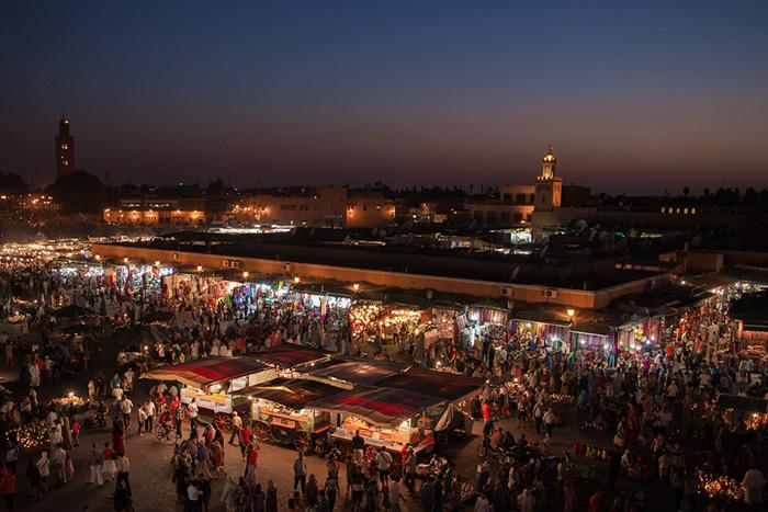 Площадь Джемаа аль-Фна, Марракеш