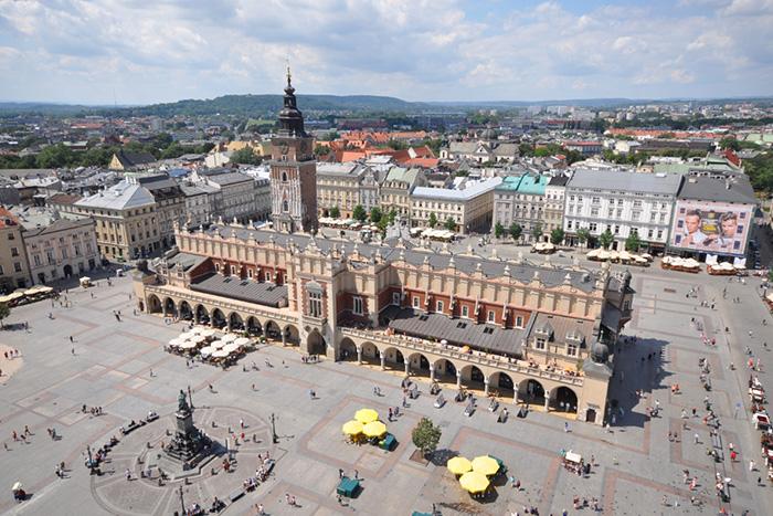 Площадь Главный рынок, Краков