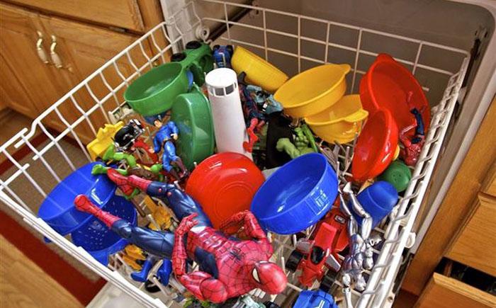Посудомойка для игрушек