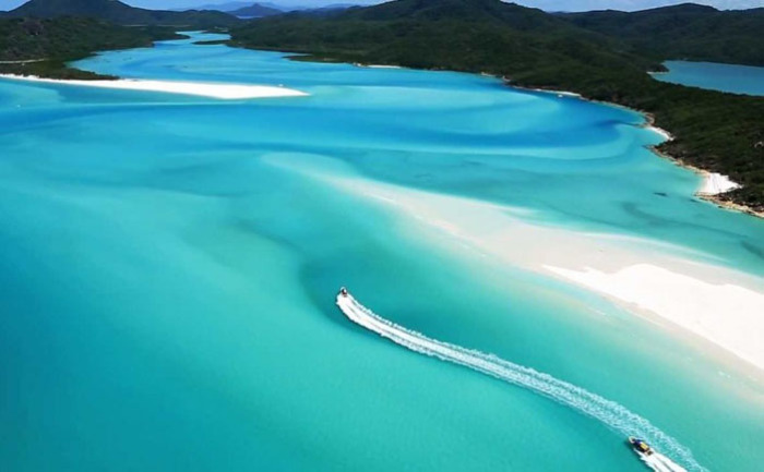 Уайтхэвен-Бич – группа островов Уитсанди, Австралия