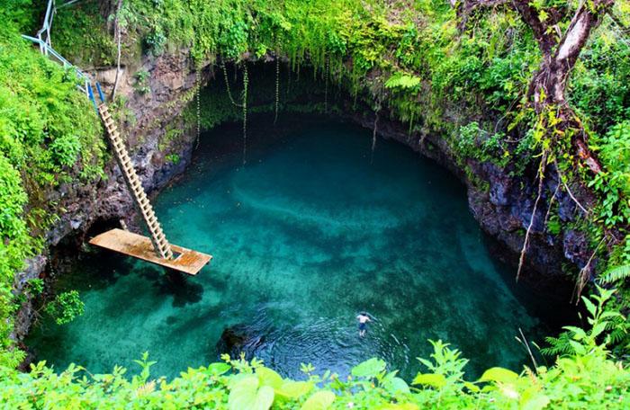 Озеро  То Суа – Самоа