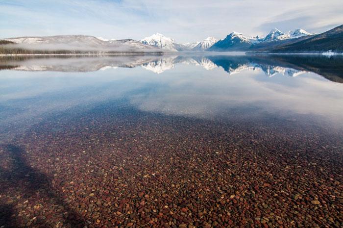 Озеро Макдональд, Монтана – США