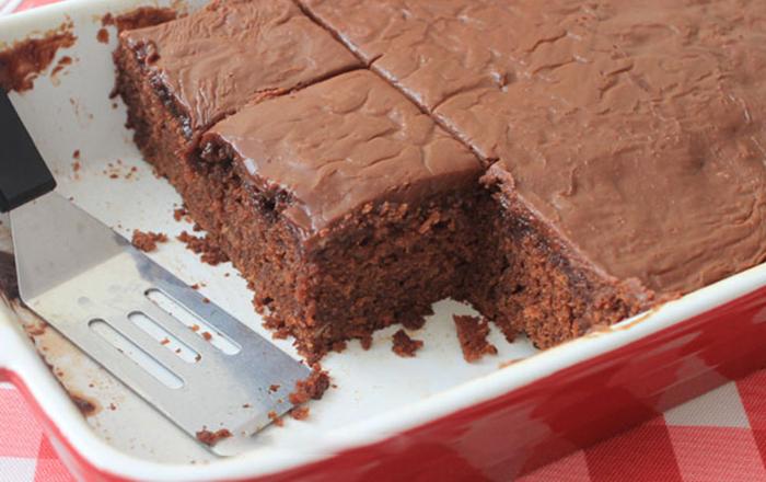 Нежный шоколадный пирог из Кока-колы