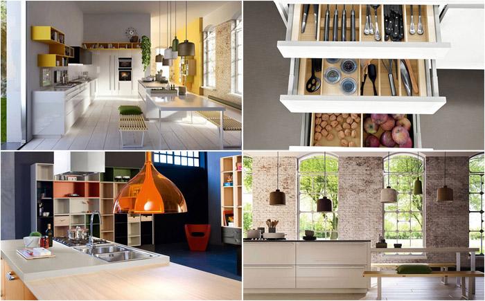 Красивый и практичный кухонный гарнитур Code
