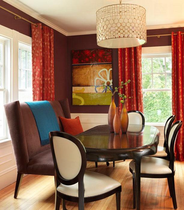 Интерьер столовой от Rachel Reider Interiors