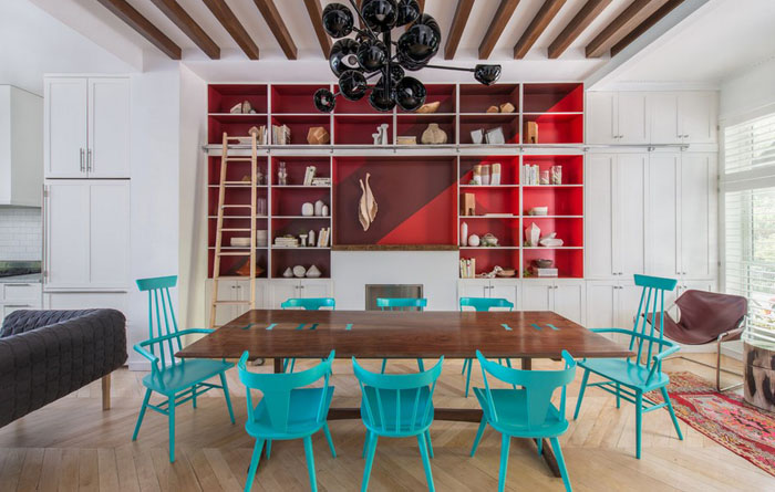 интерьер столовой от Jessica Helgerson Interior Design