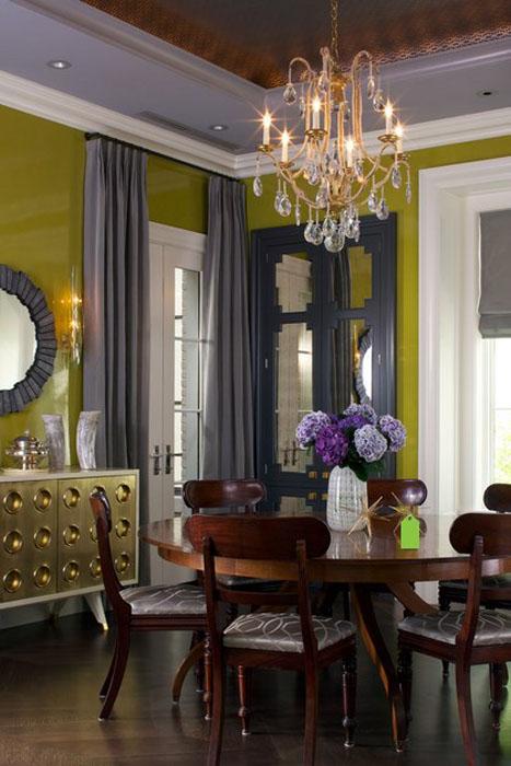 Интерьер столовой от Jennifer Ott Design